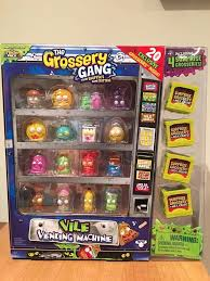 Grossery Gang Vile Vending Machine Stunning The Grossery Gang Vile Vending Machine New Exclusive Grosseries