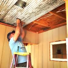 corrugated steel ceiling metal ideas home design app cheats sheet decorating cookies