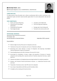 Brilliant Ideas Of Cover Letter Sample For Chartered Accountant