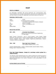 Graduate Resume 100 resume example for fresh graduate nanny resumed 88