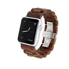 our wooden watch band blends perfectly with your apple watch providing the most unique minimalstic look stand out from the crowd decide between