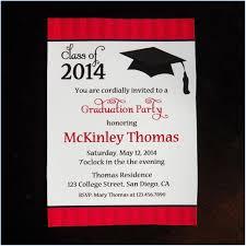 Graduation Party Invitation Templates Powerpoint Template