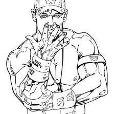 Wwe Printable Coloring Pages Coloring 2018 Guihuarencom