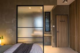 room divider furniture. Simple Screen Works As An Efficient Room Divider In The Rustic Bedroom [Design: Chinc\u0027s Furniture