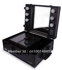 Sunrise Makeup Case With Lights Sunrise Professional Portable Travel Cosmetics Beauty Case