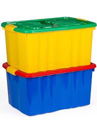 <b>Ящик для игрушек</b>, 2 шт Полимербыт 3632828 в интернет ...