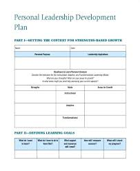 Employee Goal Setting Template Beautiful Leadership Development Plan