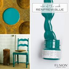 Fusion Mineral Paint Color Chart Fusion Mineral Paint Renfrew Blue