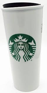 starbucks coffee cup. Wonderful Starbucks Starbucks Double Wall Ceramic Traveler Coffee Mug 16 Fl Oz Intended Cup K