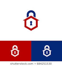 Image Locksmith Company Locksmith Icon Using Keyhole House And Lock Shutterstock Locksmith Logo Images Stock Photos Vectors Shutterstock