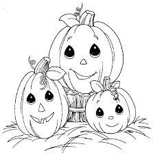 Halloween Print Outs For Kids Coloring Pages Halloween Colouring ...