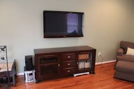 wall mount for flat screen tv new mounts on the wooden cabinet of interesting intended 20