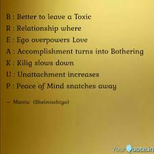 Accomplishment Quotes Unique B Better To Leave A Tox Quotes Writings By SujataMantu