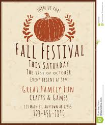 Fall Festival Flyer Free Template Fall Flyer Free Omfar Mcpgroup Co
