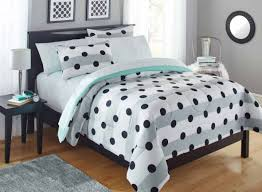 full size of bed dots white black the collection nancy pillow and polka dot bedding