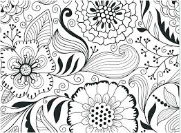 Flower Coloring Pages Pdf Free Flower Coloring Pages Coloring Floral