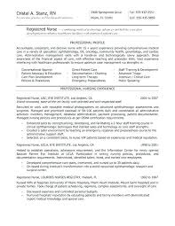 Nursing Resumes Template Nursing Template Nurse Resume Examples ...