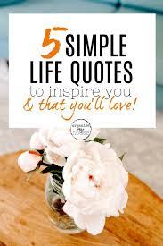 Simplify Life Quotes