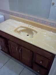 Refinish Bathroom Vanity Top Capttubs Capt Tubs Refinishing Repair