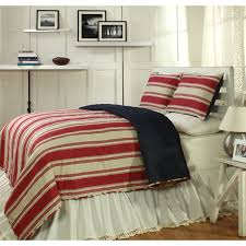 Canon Red 3-piece Quilt Set - On Sale - Free Shipping Today ... & Canon Red 3-piece Quilt Set Adamdwight.com