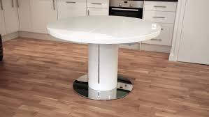articles with extending glass dining table round tag glass dining