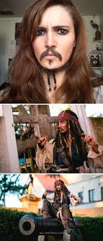 capn jack sparrow cosplay alyson tabbitha will have you schless with these images