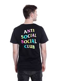 Anti Social Social Club Assc X Frenzy T Shirt Streetwear Outfits