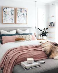 Contemporary bedroom decor Trendy Blush Bedroom Decor Chic Modern Bedroom With White Gray And Blush Pink Color Scheme Blush Pink Bedroom Decor Decoist Blush Bedroom Decor Chic Modern Bedroom With White Gray And