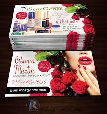Senegence Business Cards Style 1 Kz Creative Services Online