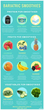 bariatric smoothies and protein shakes