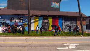 Ohio: George Floyd mural reduced to ...