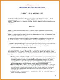 Sample Contract Amendment Template Template Employment Contract Template 7