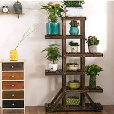 plant shelving carbonized plant stand rack shelf for outdoor indoor plant shelving bunnings