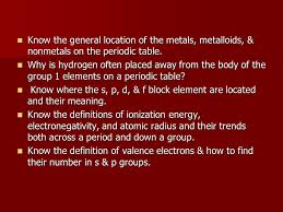 Chemistry Chapter 5 the Periodic Table - ppt video online download