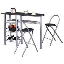 Idimex Ensemble Style Avec Table Haute De Bar Mange Debout Comptoir