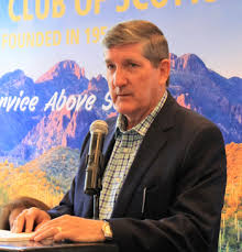 Phil Francis, former CEO of PetSmart, gave a very interesting talk about  his background and business experiences.   Scottsdale Rotary Club