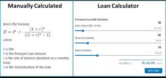 calculator house loan how should one calculate equated monthly installments for a