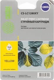 <b>Cactus</b> CS-<b>LC1280XY</b>, Yellow <b>картридж</b> струйный для Brother ...