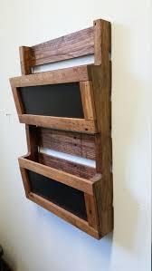 wood wall pocket organizer