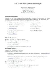 Computer Skills On Resume Sample Classy Call Center Skills Resume Resume For Call Center Agent Without