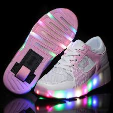 Big Kids Light Up Shoes Us 19 72 Boys Girls Luminous Sneakers Casual Shoes Glowing Sneakers Big Kids Children Led Shoes With Light Up Tenis Infantil In Sneakers From Mother