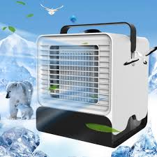 USB Mini Portable Air <b>Conditioner Conditioning</b> Humidifier Purifier ...