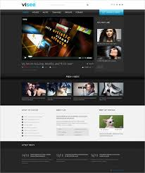 website template video 31 responsive video website themes templates free premium