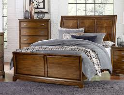 Medium Oak Bedroom Furniture Homelegance Terron Sleigh Bedroom Set Medium Oak 1909rf Bedroom