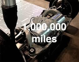 tesla electric drive unit 1 million miles