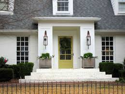 Front Door Colors for Brown House Elegant Glamorous Yellow Front ...