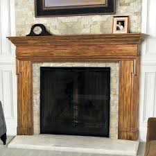 faux fireplace surround mantel with tv
