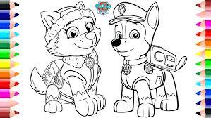 Paw Patrol Printable Color Pages Paw Patrol Coloring Pages Below Is
