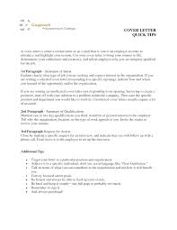 Unsolicited Cover Letter Template