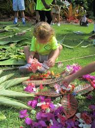 Garden Design For Visually Impaired Visually Impaired Children Created A Nature Mandala In A